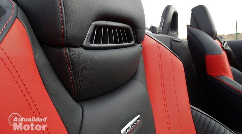 Prueba Mercedes-AMG GT Roadster bufanda de aire caliente AIRSCARF