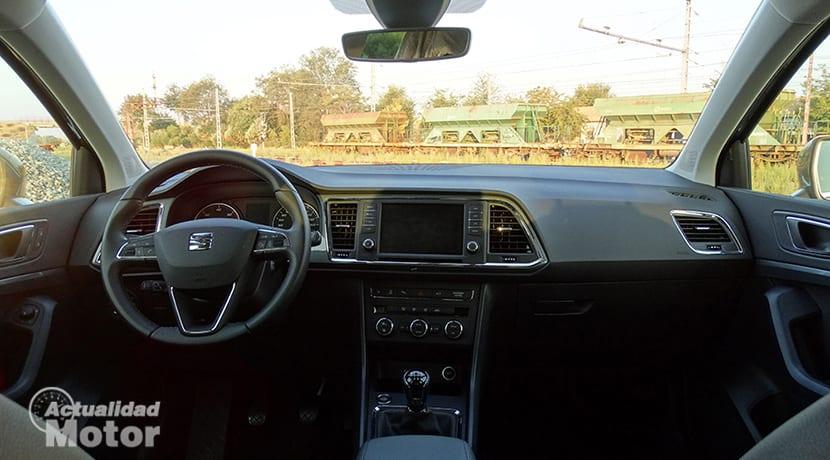 Prueba Seat Ateca 1.6 TDI interior