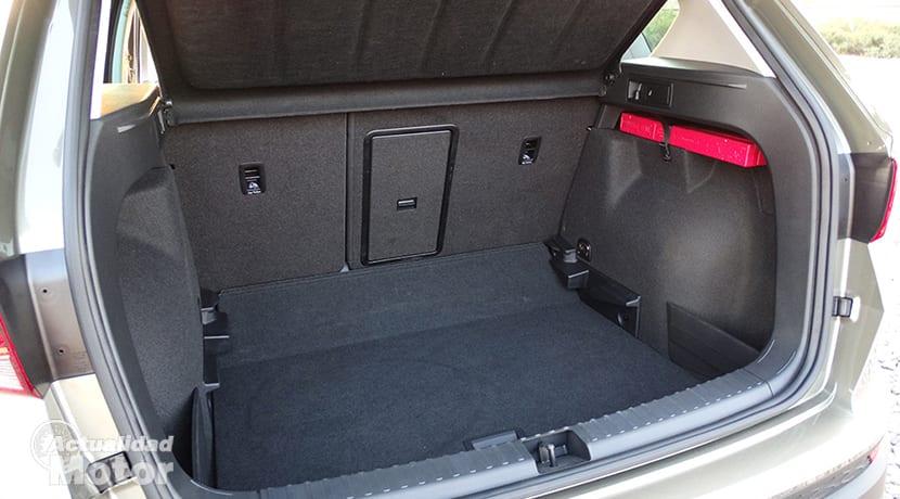 Prueba Seat Ateca 1.6 TDI maletero
