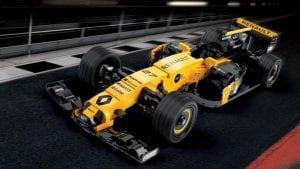 RS17 de Renault hecho con Lego