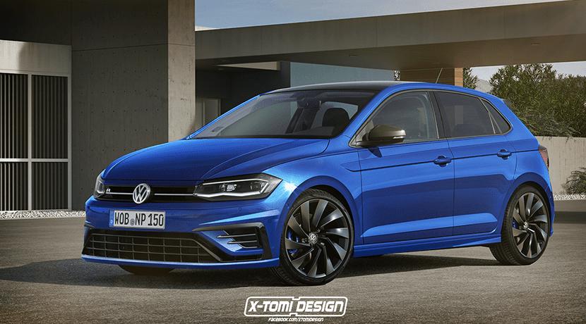 Render Volkswagen Polo R por X-Tomi Design
