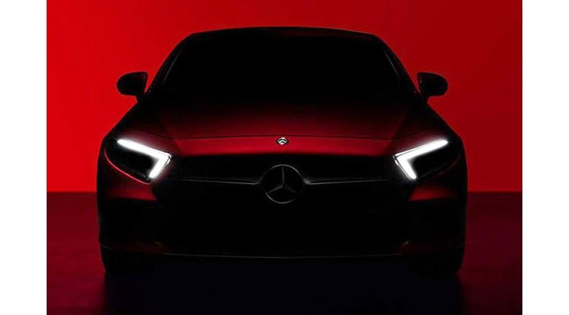 Imagen teaser del Mercedes CLS