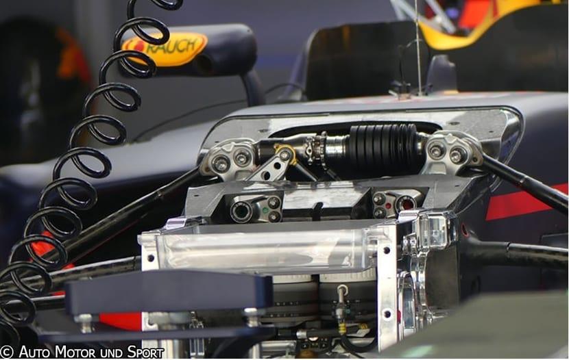 Tercer Amortiguador de un F1