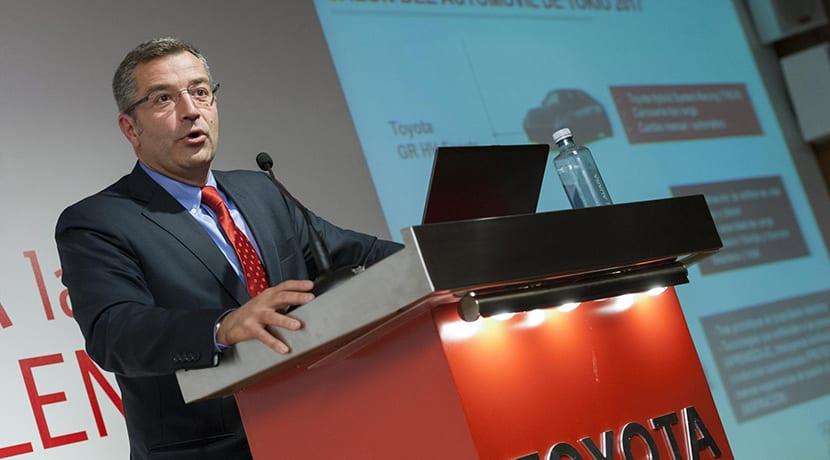 Agustín Martín, CEO de Toyota España