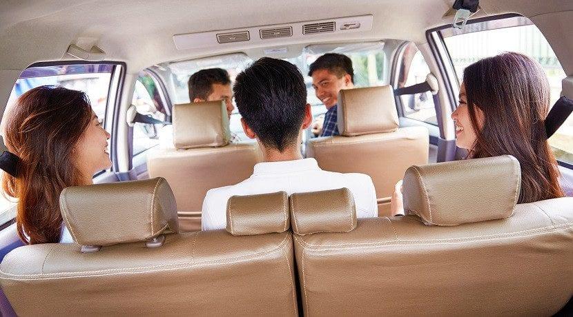 Evitar los mareos en el coche según Uber