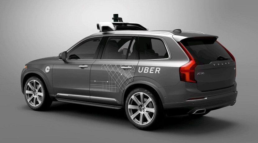 Mareos en el coche. Volvo de Uber