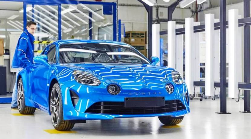 Alpine A110 Chasis