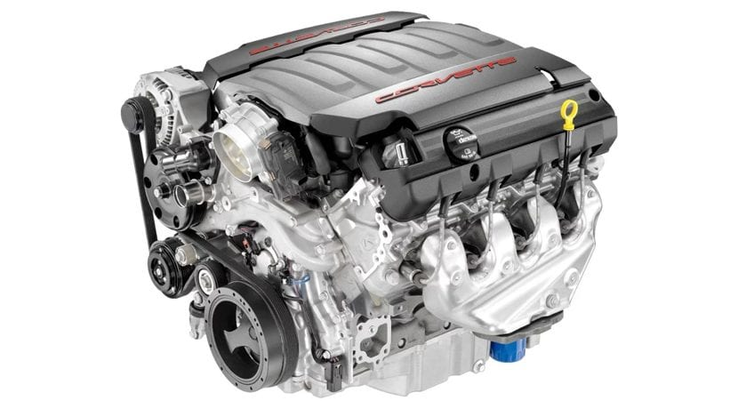 Motor V8 Chevrolet Corvette