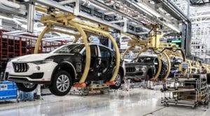 Maserati Levante Planta Mirafiori
