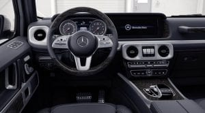 Mercedes-Benz Clase G 2018 interior
