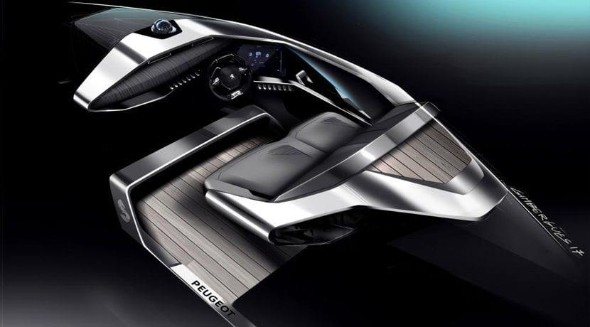 Peugeot Beneteau Lancha Motora