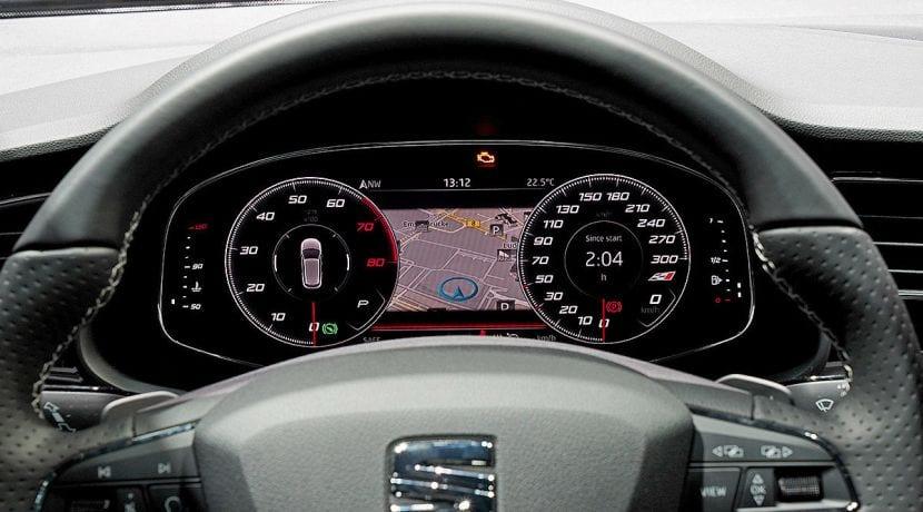 la gama seat recibirá en 2018 la tecnología virtual cockpit