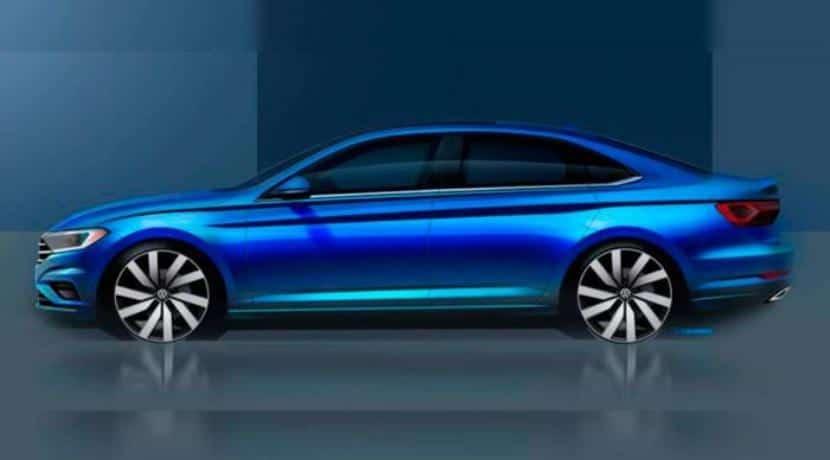 Volkswagen Jetta 2018 teaser
