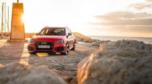 Delantera Audi RS 4 Avant