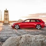 Lateral Audi RS 4 Avant