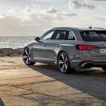 Perfil trasero Audi RS 4 Avant