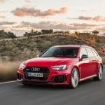 Perfil delantero Audi RS 4 Avant