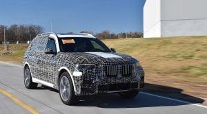 BMW X7 preproducción
