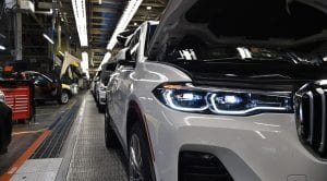 BMW X7 en fábrica de Spartanburg