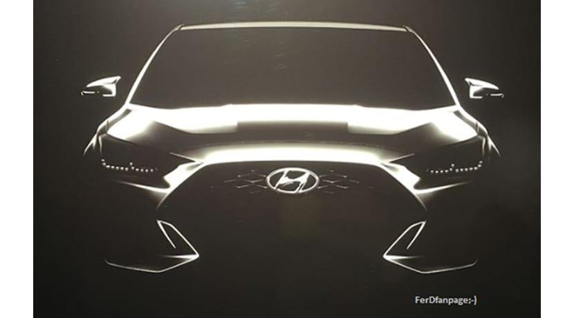 Hyundai Veloster filtrado