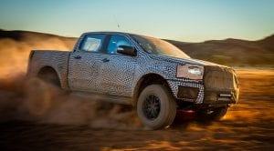 Vídeo teaser del Ford Ranger Raptor
