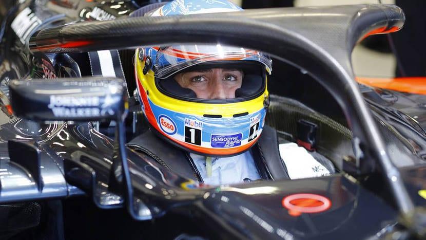 Alonso con el Halo