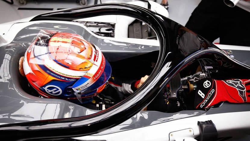 Halo del Haas F1 2017