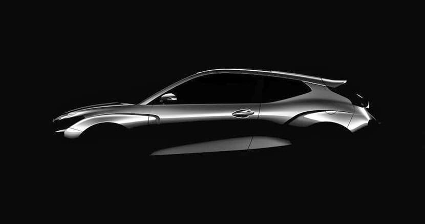Teaser del Hyundai Veloster