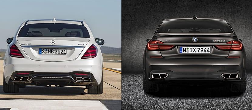 Mercedes AMG S 63 VS BMW M760Li xDrive