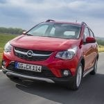 Opel Karl Rocks frontal
