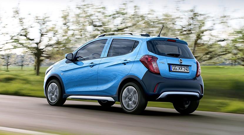 Opel Karl Rocks perfil trasero