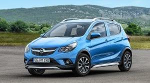 Opel Karl Rocks perfil delantero