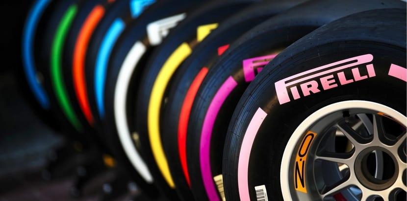 Neumáticos Pirelli para 2018