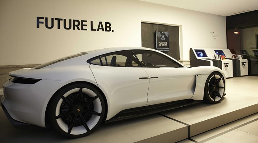 Porsche Mission E en Pop Up Store Madrid