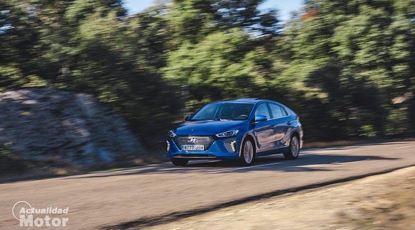 Comportamiento del Hyundai Ioniq