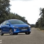 Hyundai Ioniq perfil frontal
