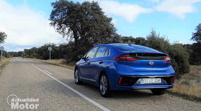Perfil trasero Hyundai Ioniq