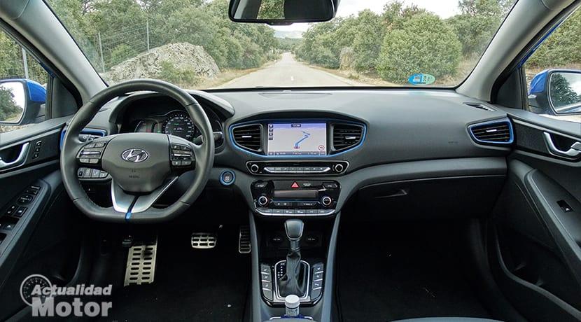 Diseño interior Hyundai Ioniq