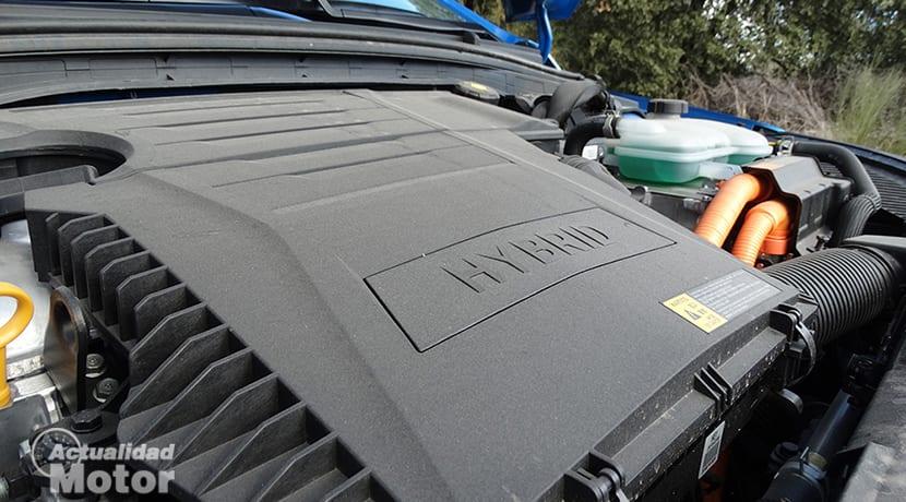 Propulsor híbrido Hyundai Ioniq