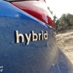 Detalle hybrid Hyundai Ioniq