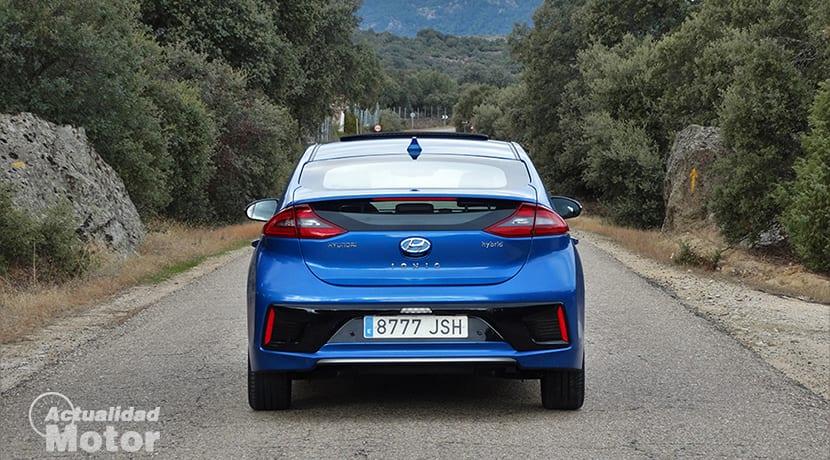 Trasera Hyundai Ioniq