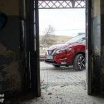 Detalles exteriores Nissan Qashqai