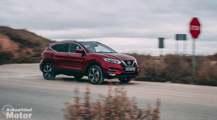 Prueba Nissan Qashqai en movimiento