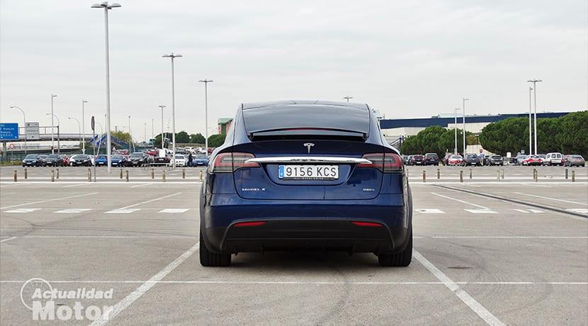 Trasera Tesla Model X