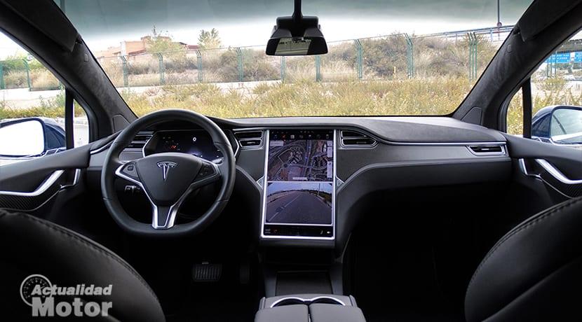 Salpicadero Tesla Model X