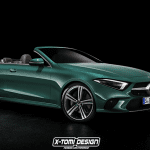Render Mercedes CLS Cabrio by X-Tomi Design