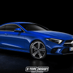 Render Mercedes CLS Coupe by X-Tomi Design