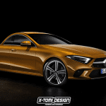 Render Mercedes CLS Pick Up by X-Tomi Design