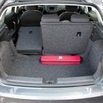 Asiento abatido del maletero del Seat Ibiza Reference Plus