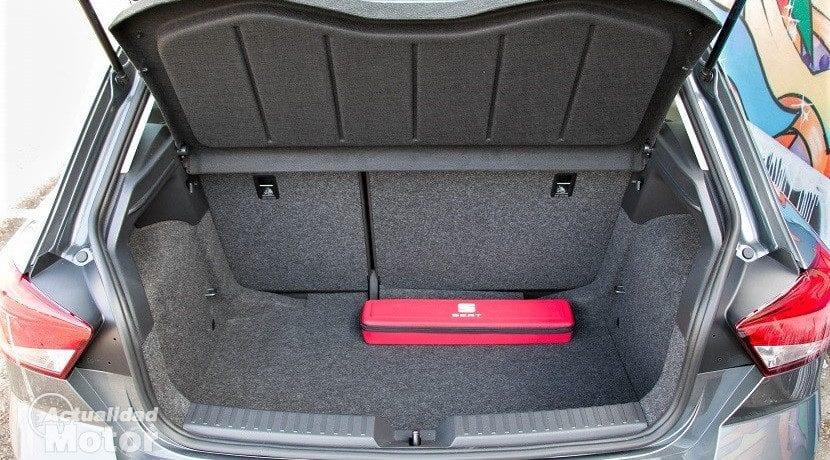 Maletero del Seat Ibiza Reference Plus